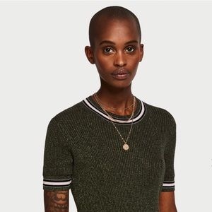 Authentic Scotch & Soda Contrasting Stripe Top